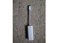 Apple Thunderbolt 2 to Thunderbolt 3 / USB C adapter