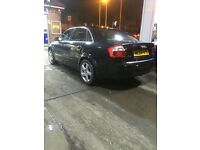 Audi A4 black (bargain) priced to sell full leather ect