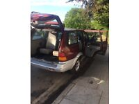 ssangyong musso 2.9 diesel automatic 4x4 7 seather