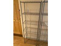 Metal Shelf for Storage - Kitchen, Garage, Bedroom shelf