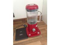 Red kMix Kitchen Blender - like new