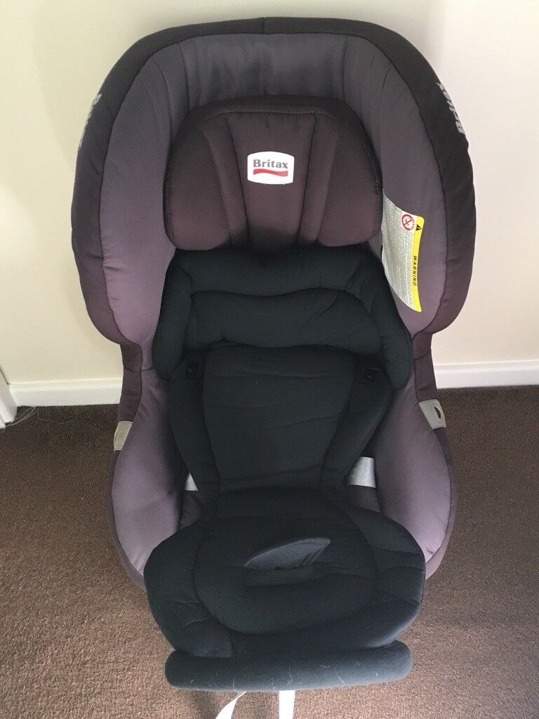 Britax Max Fix 2 Isofix Rear Facing Car With Infant Insert