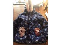 Girls Frozen Disney Jacket / Coat - 5-6 Years - Height 116cm