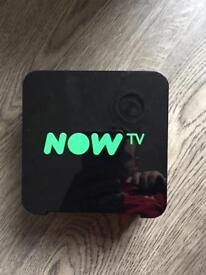 Now TV smart box and router