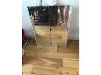 A bathroom double mirror cabinet for sale 75x60x15cm