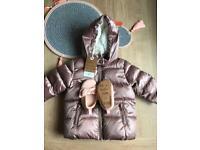 Baby girl coat