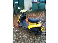 2001 motorroma wasp 50cc moped only 1250 miles from new