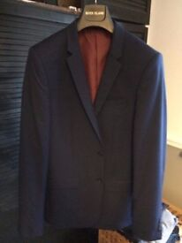 Skinny Navy Suit Jacket from RI.