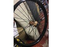 Cinema bmx wheels mint condition limited edition colour