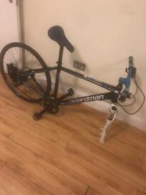 C boardman mountain bike needs new front wheel £150