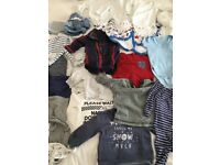 0-3 months baby boy clothing bundle