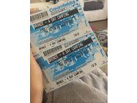 Creamfields Bronze campsite 4 day X2 tickets