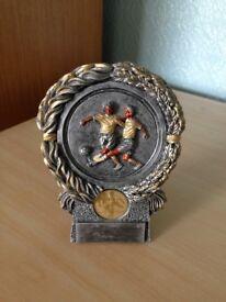 Resin Shield Football Trophy
