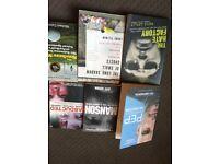 98% non fiction books. Crime. Mexican Mafia. Cali Cartel etc