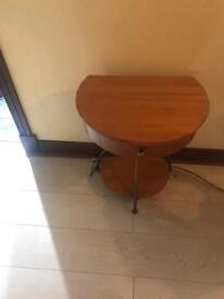 Oak side table