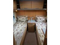 2006/7 Swift Challenger twin fixed beds, 4 berth, motor mover