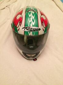 Nitro small motor cycle helmet