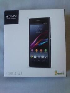 Sony Xeria Z1, Black, brand new unused, unlocked  CALL   647-875-7109