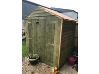 Large garden shed 8x5