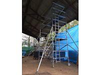 Boss Youngman Alumnium scaffold tower double 6.2M X 1.8M