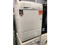 HOTPOINT Aquarius TCM580BP Condenser Tumble Dryer - White