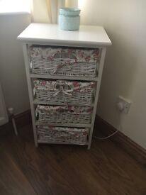 Storage Unit with Baskets x2