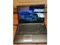 Laptop 4 sale 60 no offers, only works plugged in