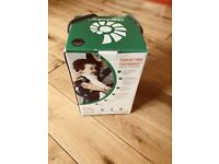 Ergobaby organic cotton baby carrier, boxed with instructions