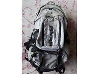 Aztec travel rucksack with detachable day sack