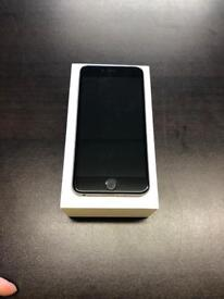 iPhone 6 Plus 16gb unlocked good condition with warranty and accessories space grey