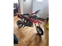 Brand new 50cc pitbike