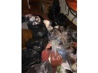 35 bags of clothes house clearance boot sale