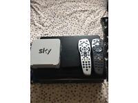 Sky 1tb HD box plus more