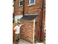 proprty maintenance, decking, slabbing, pointing, fencing, driveways, concreting, turfing, gates etc