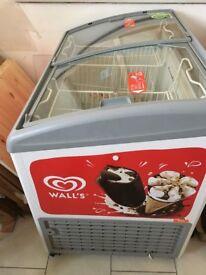wall's branded ice cream frrezer