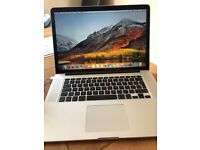 "Apple MacBook Pro15.4"" Retina Display Laptop (Mid-214) 2.2 i7 16GBRam. 256 flash hard drive"