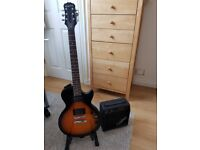 Epiphone Les Paul Vintage Sunburst Player Pack (Electric guitar, amplifier, stand and more)