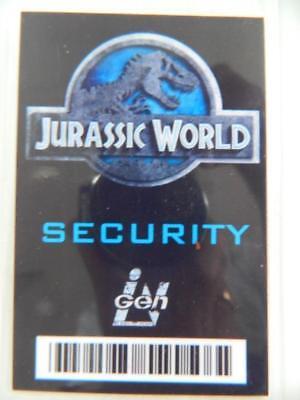 VIE PROP - ID/Security Badges (Jurassic World - Security) (Movie World Halloween)