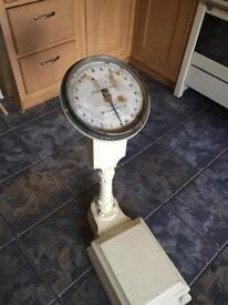 Victorian weighing scales