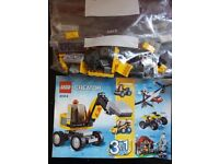 Lego 3 in 1 creator sets from £3