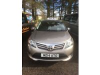 TOYOTA AVENSIS ESTATE CAR IN BRONZE VGC NEW SEPT 2014