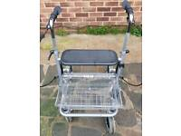Mobility Rollator walking aid