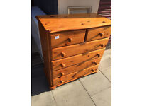 Large Pine Chest - free local delivery- Good Quality size W 34 in D 17 in H 36