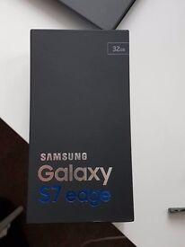 Samsung S 7 edge black