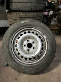 Transporter 205/65r16 tyres and rims