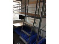 Jaybe Cabin Bed with desk and chair bed