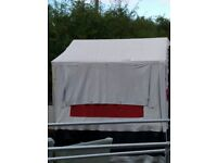Jamet Trailer Tent complete with awning and cooker
