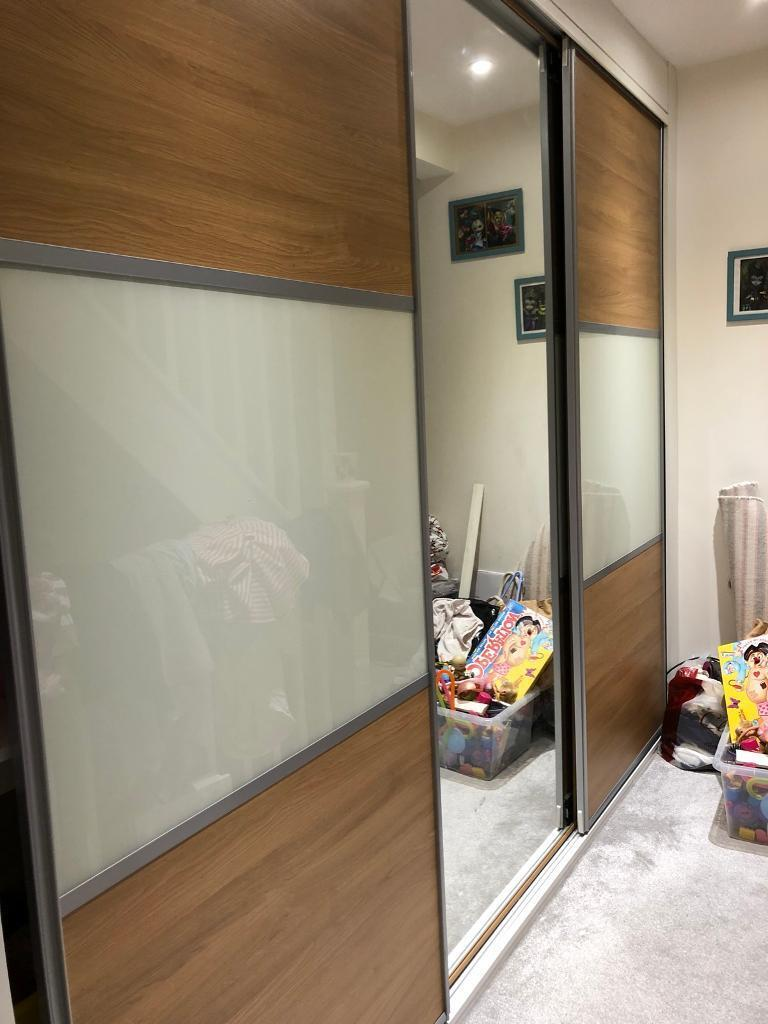 Wickes Sliding Mirrored Bedroom Doors Creativeadvertisingblog