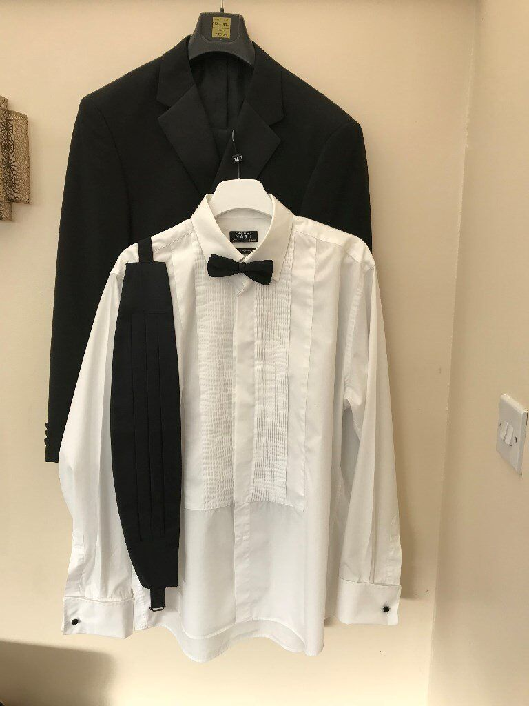 M&S Dinner Suit, Dress Shirt and Accessories