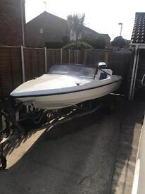 14ft fletcher speedboat